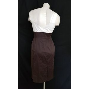 Worthington Dresses - 👗Worthington Size 4 Dress Off White Brown